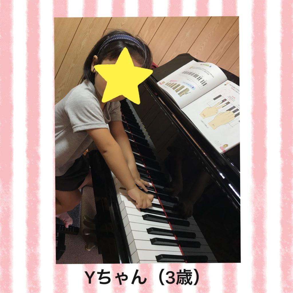 鍵盤の2つと3つ